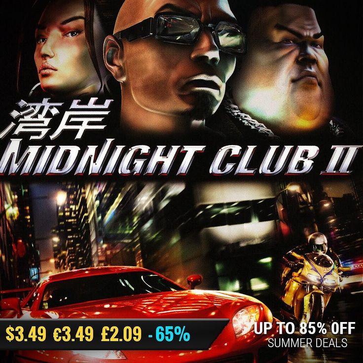 Sila Games summer sale #gamedeals Midnight Club 2 -65% Off $3.49 3.49 2.09 http://ift.tt/2u52G2x #rockstar #pcgaming #pcgamer #gaming #siladeals