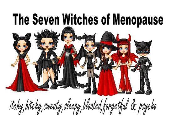 Menopause humor                                                                                                                                                                                 More