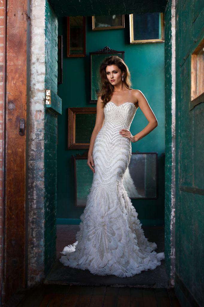 Mejores 37 imágenes de Vestidos de Novia Estilo Gran Gatsby en ...