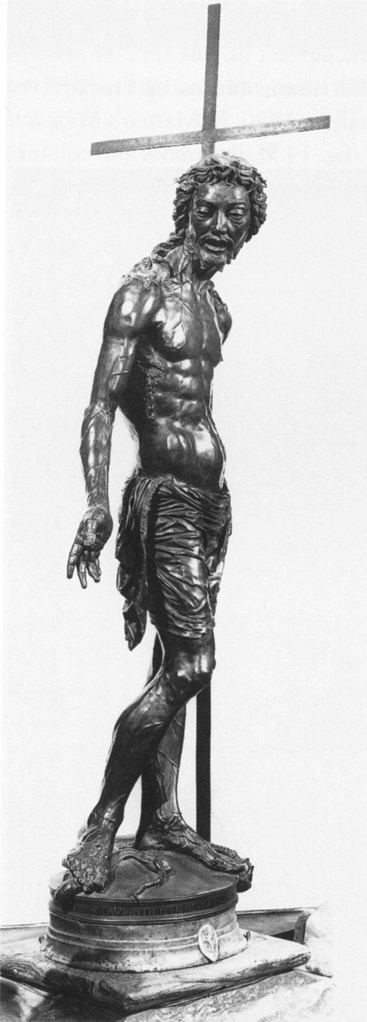 Веккьетта. Воскресший Христос. Risen Christ. 1476 г. Bronze. Chiesa dell'Ospedale della Scala, Siena.