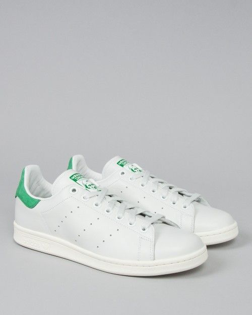 women's adidas stan smith white /white collar clinic reconditioned