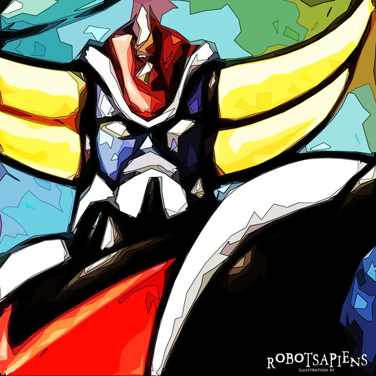 Grendizer(Goldorak) Pop art