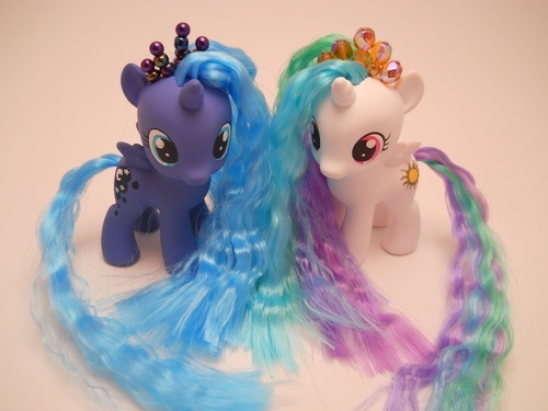 Celestia and Luna as fillies! SOOOOOOOOOOOOO ADORABLE! :D