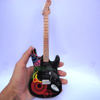 Miniatur Gitar Fender American Standard Strat HSS