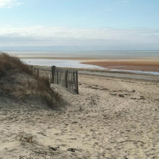 Linnell landing beach  Brewster MA Cape Cod
