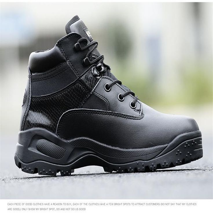Outdoor Sports High Quality Tactical Boots Autumn and Winter Male Land Special Forces US Low Low Zipper Outdoor Hiking Shoes -*- AliExpress Affiliate's buyable pin. Click the VISIT button to view the details on www.aliexpress.com #MensWinterBoots