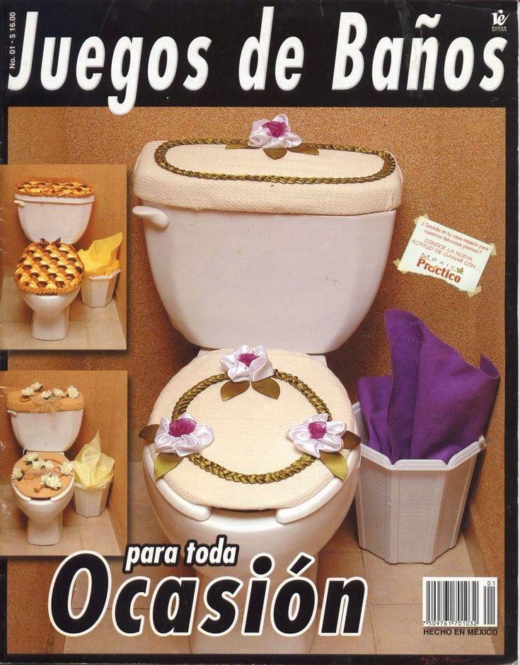 Revistas de manualidades Gratis: Como hacer juegos de baño
