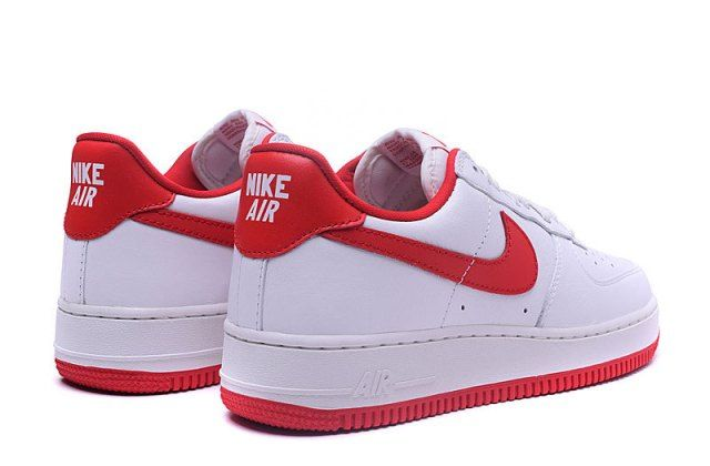 75cb6c00 Unisex Nike Air Force 1 Low QS OG Summit White University Red 845053 100  Men's Women's Basketball Shoes - NikeShoesZone.com