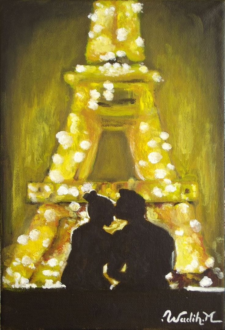 I love the feel-good feel to this painting. It's the perfect romantic image for my short story, Come Date Me in Paris
