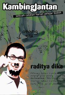 the first novel of raditya dika 'kambing jantan'