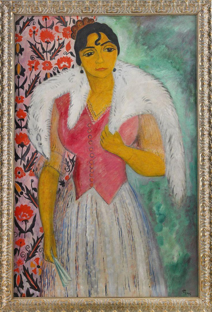 "**ISAAC GRÜNEWALD 1889-1946 ""Anna"""