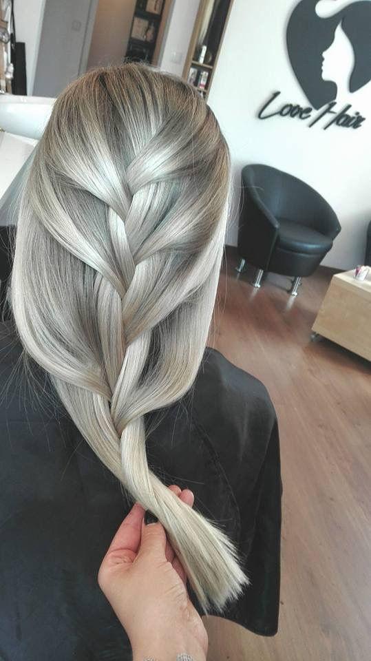 Silver ash blond