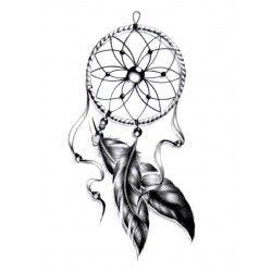 Ma trouvaille sur tattoolifestyle.fr : des tatouages temporaires que l'on applique sur la peau et que l'on humidifie pendant 30 secondes, on décolle et on admire ! Tatouages Temporaires Attrape-Rêve, 3.90 €