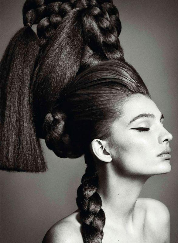 """Sube El Volumen""   Model: Carola Remer, Photorapher: Nico, Harper's Bazaar Spain, March 2013"