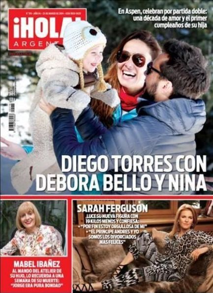 Hola! Magazine [Argentina] (26 March 2014) DUCHESS OF YORK