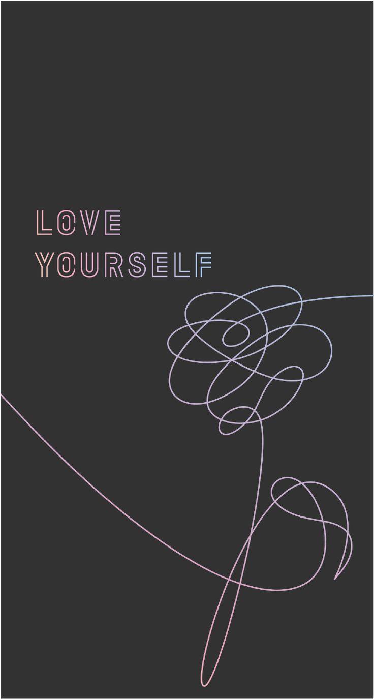 Bts Love Yourself Wallpapers Pt 2 Album On Imgur Bts Wallpaper Lyrics Bts Love Yourself Bts Lyric Bts love yourself logo wallpaper