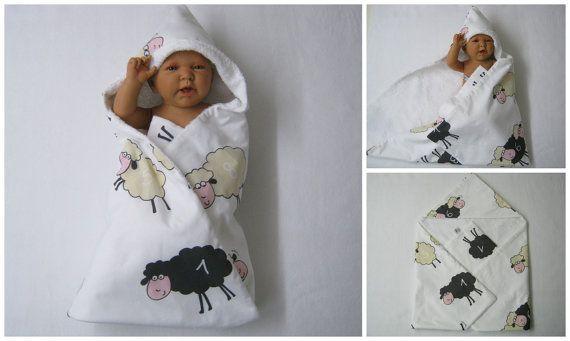 kapuzenhandtuch babyhandtuch badetuch wickeltuch von bighead5005
