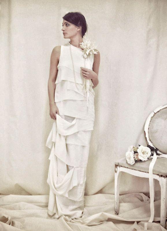 spose autunno inverno | ... Cavallini capsule collezione inverno 2015 semi couture abiti sposa2