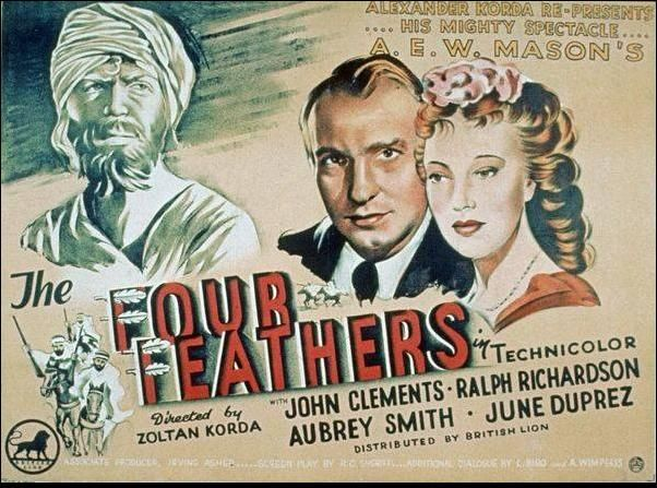 War Movie : The Four Feathers (1939) in 2020 | War movies, War ...