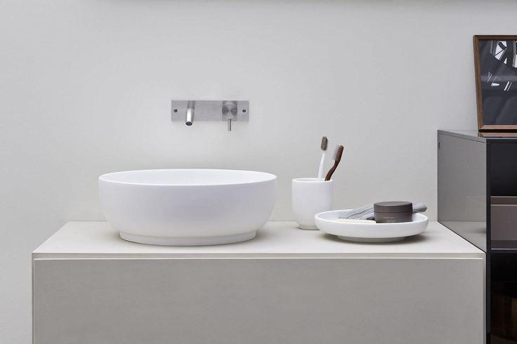 Moderner Waschtischunterschrank / Holz / Hänge / mit Spiegel ESPERANTO Rexa Design