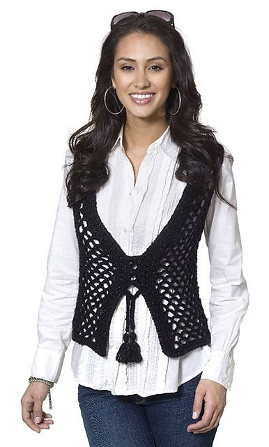 Ravelry: Janis Vest pattern by Kimberly K. McAlindin