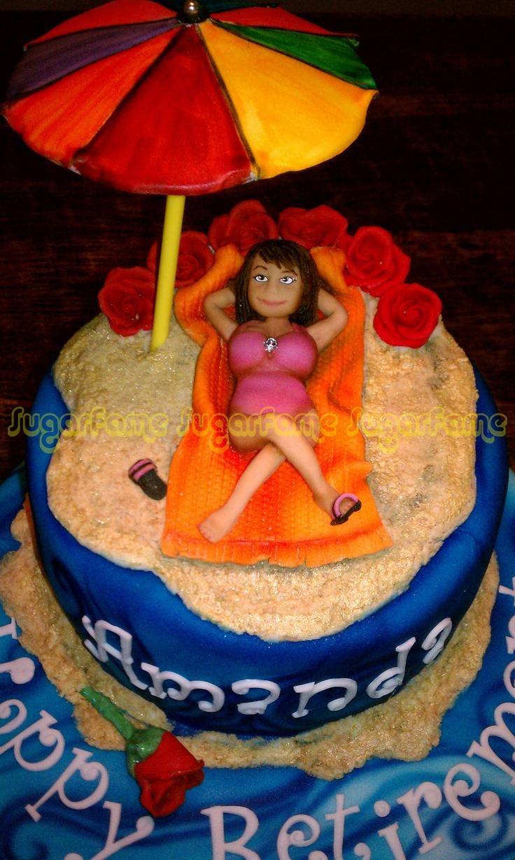 Retirement Cakes Cake Retirement Examples Pinterest