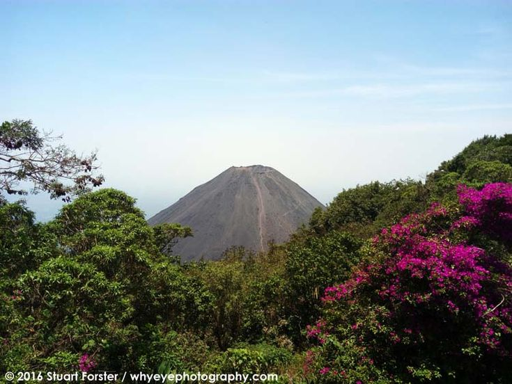 A volcanic peak in Cerro Verde National Park.