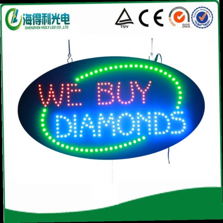 """48.00$  Buy now - http://ali1v4.worldwells.pw/go.php?t=2039723189 - """"HOT!15""""""""*27"""""""" high brightness oval LED OPEN sign"""" 48.00$"""