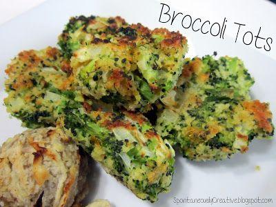 Spontaneously Creative: Broccoli Tots