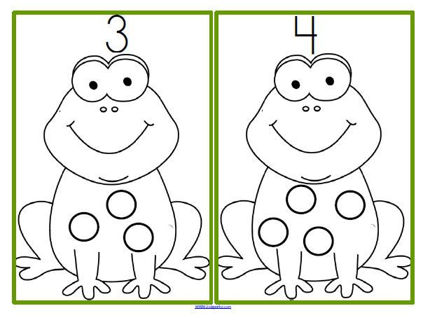 Frogs Theme Activities for Preschool PreK and Kindergarten