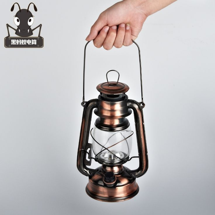 44.99$  Buy here  - Shipping retro outdoor lighting 18650 battery charging portable LED emergency camping tent decoration kerosene lantern