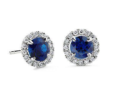 blue nile saphires