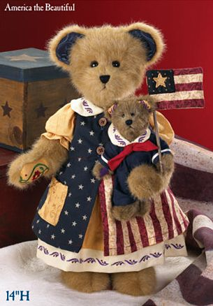 Fourth od July-America the Beautiful Bear