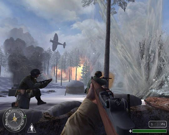 Call of Duty United Offensive PC Game Screenshots