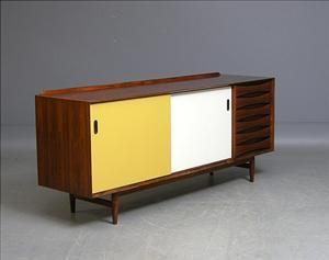 m bel sideboard arne vodder rio palisander 1960er jahre die auktion ist. Black Bedroom Furniture Sets. Home Design Ideas