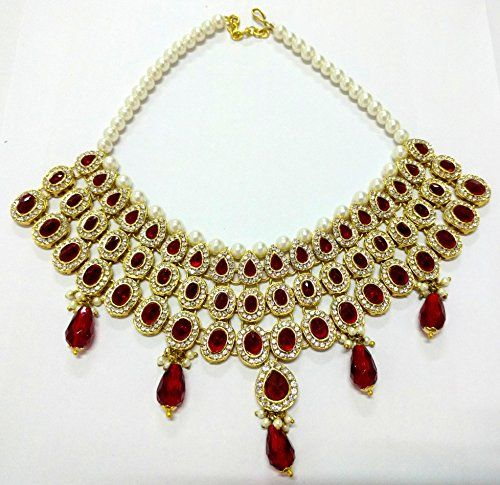 Ethnic Indian Bollywood Gold Plated Red Stone Traditional... https://www.amazon.ca/dp/B01N4CDSL3/ref=cm_sw_r_pi_dp_x_CyRNyb5JRCNAJ