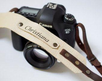 Personalizada correa correa de cámara regalo para el por CutDesign