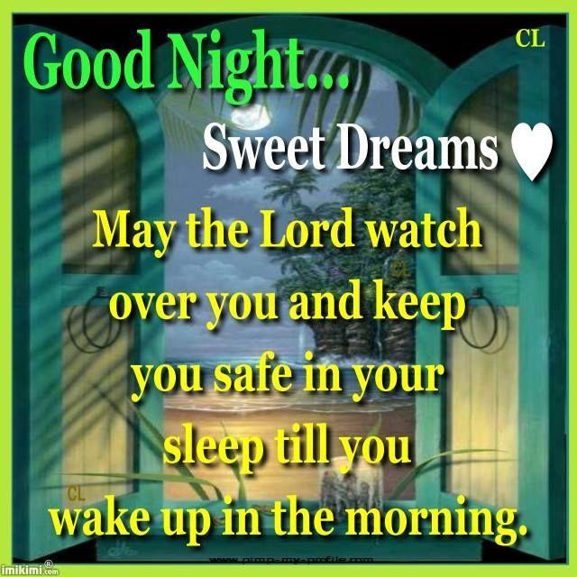 Good night sweetheart...:)