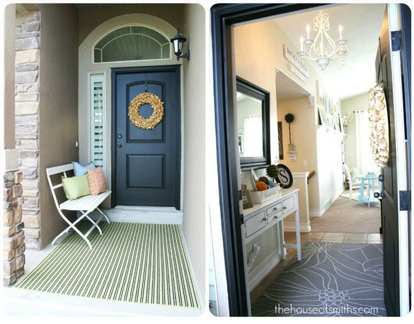 Front Foyer Rugs : The house of smiths home diy interior decorating
