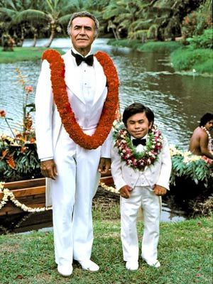 Tattoo and Mr. Roarke - Welcome to Fantasy Island