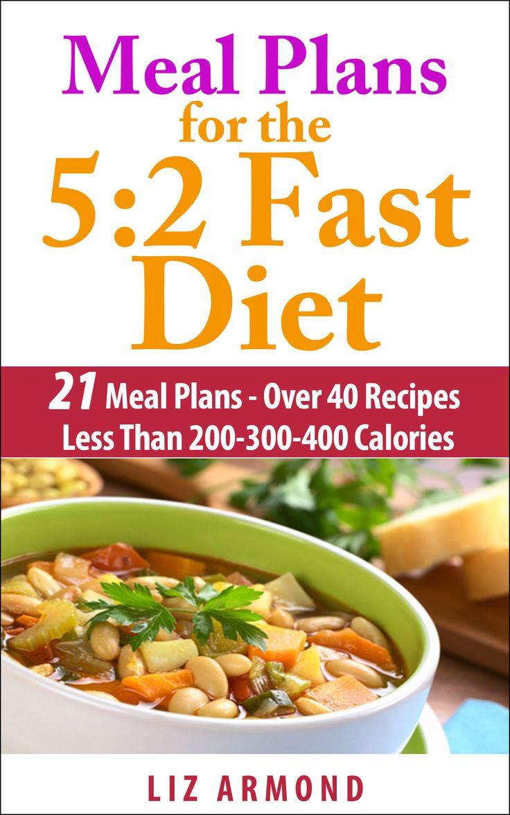 Meal Plans for the 5:2 Intermittent Fasting Diet with Menu ...