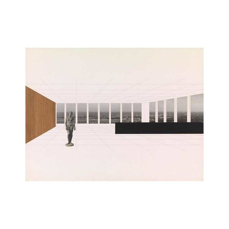"44 Likes, 1 Comments - Julian (@julian_hoffmann) on Instagram: ""Second part: Ludwig Mies van der Rohe. Montage. Collage. Published by Buchhandlung König #art…"""