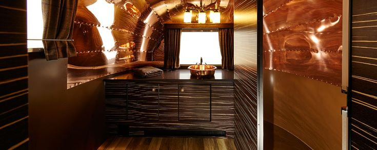 I love this bathroom!  American Retro Caravans - Airstream renovation, Airstream sales UK