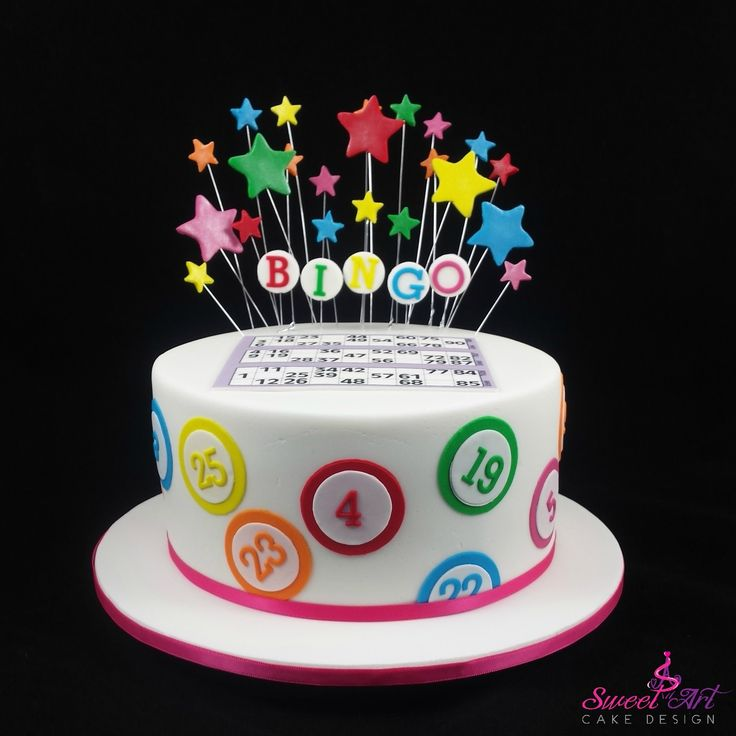 Bingo Cake Decorations For Sale