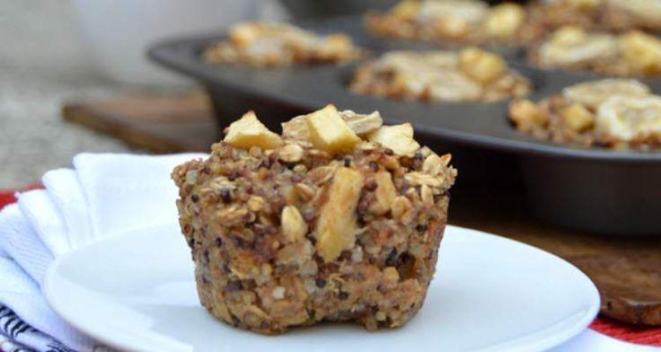 Deze quinoa muffins zijn ideaal als super gezond en lekker snel ontbijt in de ochtend. Dus weinig tijd en toch gezond eten is nu heel makkelijk geworden.