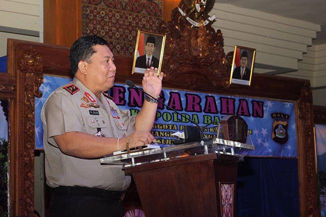 Kapolda Irjen Pol Petrus Reinhard Golose: Di Bali Tidak Boleh Ada Premanisme