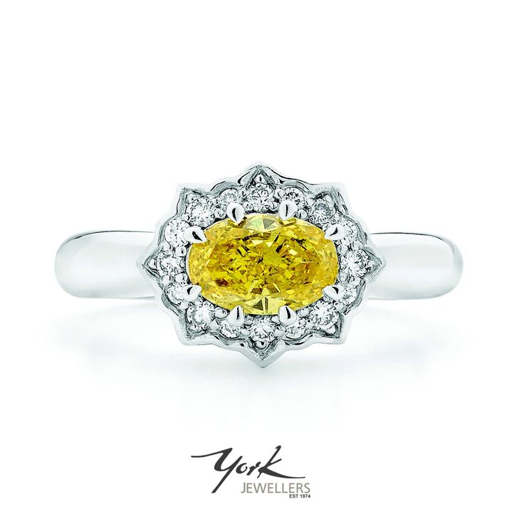 We love yellow diamonds!   www.yorkjewellers.com.au