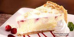Claim Jumper Restaurant Copycat Recipes: Raspberry Swirl White Chocolate Cheesecake