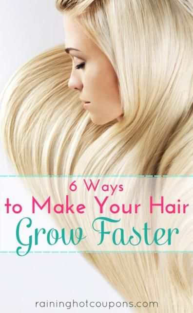 6 Ways To Make Your Hair Grow Faster #Beauty #Trusper #Tip