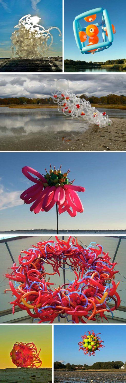 Janice Lee Kelly, Balloon Sculptures